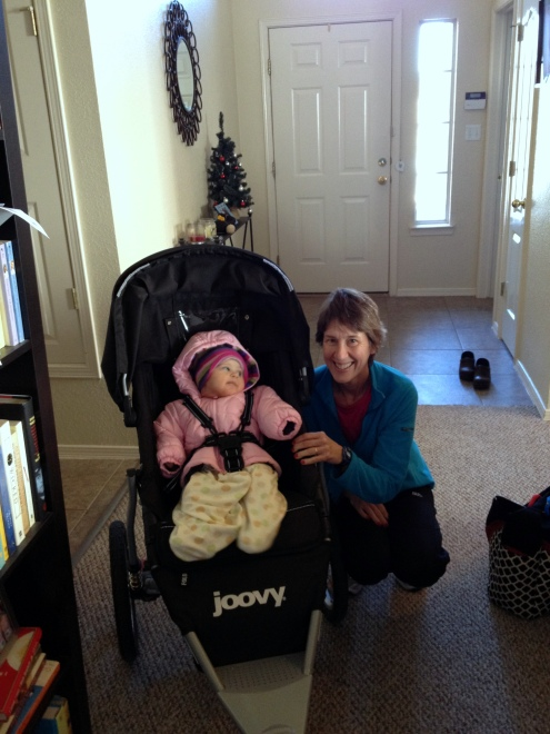 Baby in Joovy Zoom 360